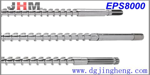 Injection Screw EPS8000 (Compre&Refin powder)