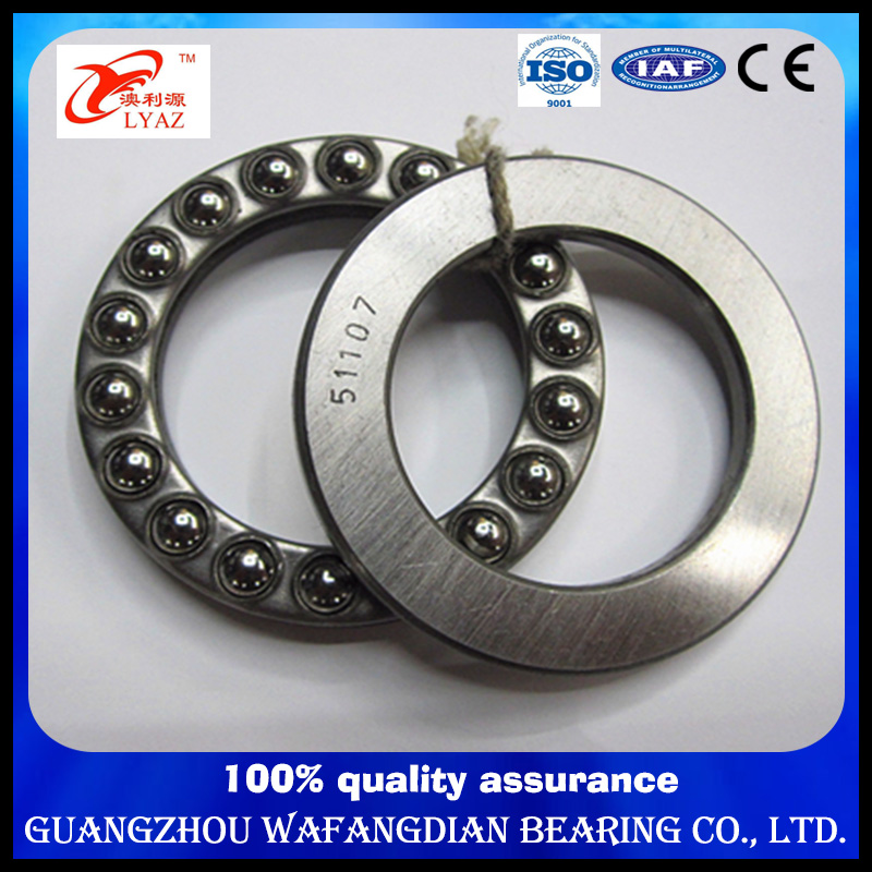 China Supplier Size 340X460X96 Single Direction Thrust Ball Bearing 51268 51268f