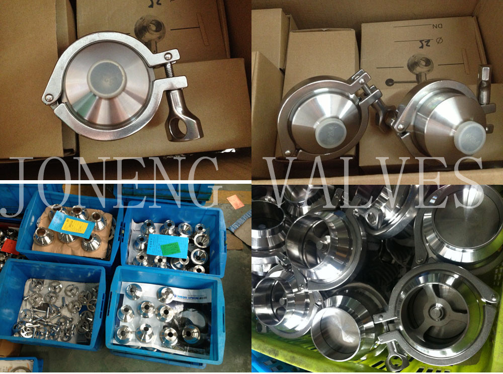 Stainless Steel Sanitary Clamp- Body Clamped Check Valve (JN-NRV1006)