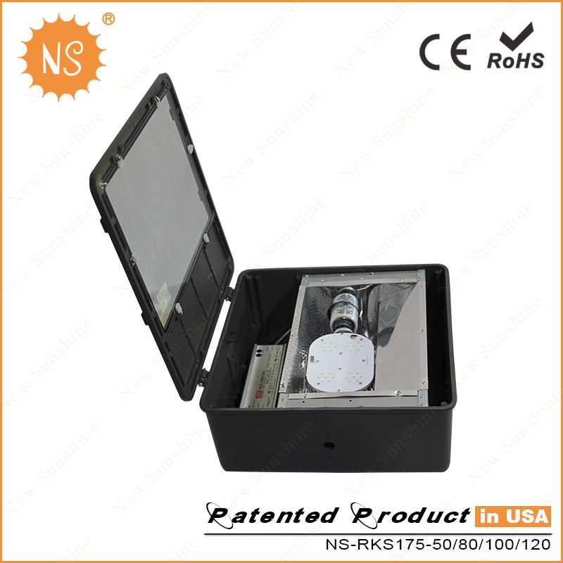 300W Parking Lot Lamp Replacement E26 100W LED Retrofit Kits