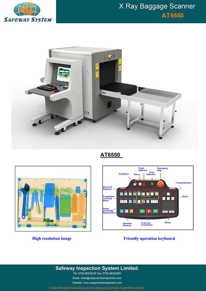 Ce Approved Handbag, Parcel X-ray Machine System X Ray Machine