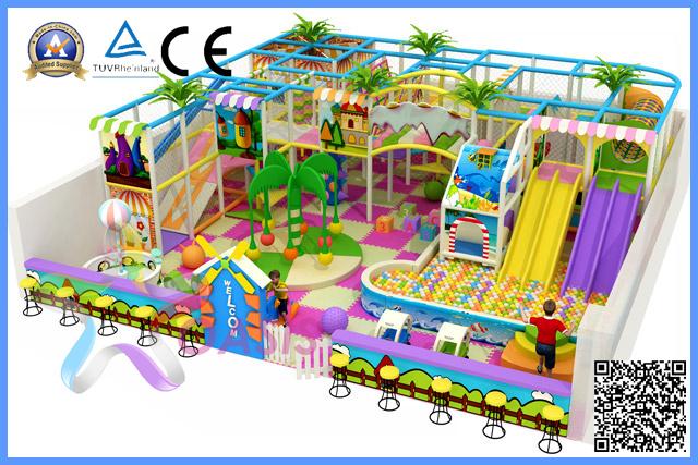 Indoor Kids Playground Equipment (TQB005BF)