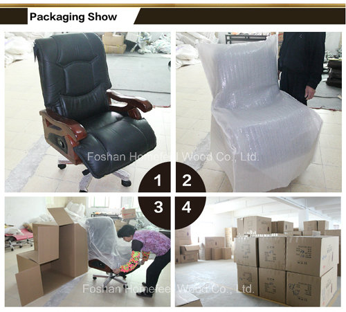 Top Grade Chinese CEO Office Swivel Leather Chair (HF-A2287)
