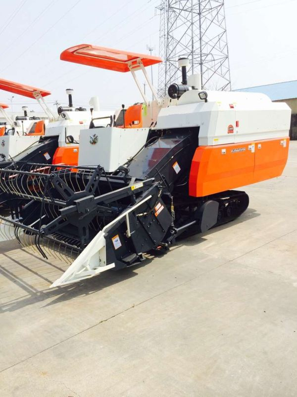Kubota Model Rice Combine Harvester with 85HP Engine in The Philippines