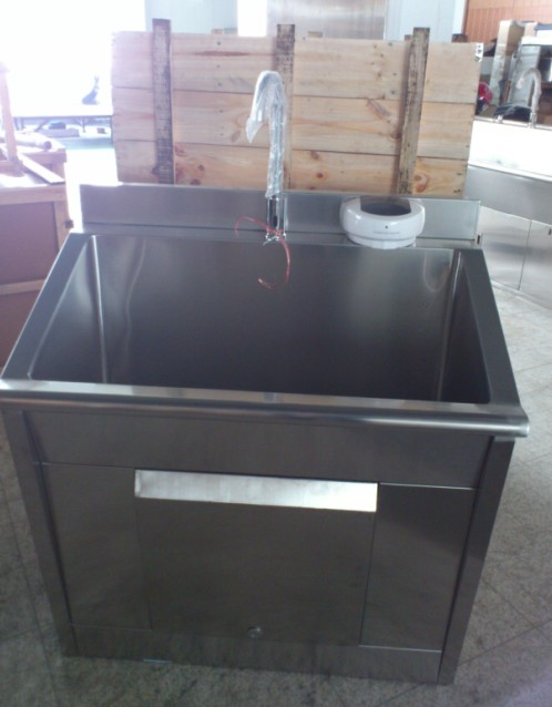 Thr-Ss011 Hospital Stainless Steel Scrub Sink