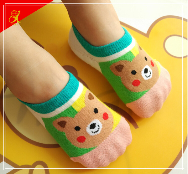 Cute Animal Print Socks Cotton Material
