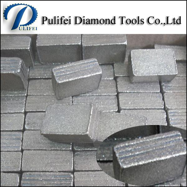 Big Size Multi-Layer Cutting Teeth Diamond Segment for Granite Marble