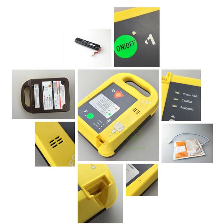 My-C025 Chinese Manufactures Discount Product Portable Aed Automatic External Defibrillator