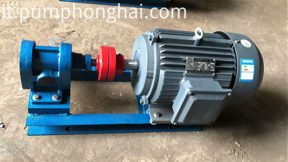 Oil Transfer Delivery Booster Gear Pump