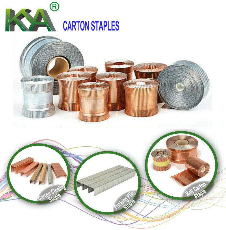 SWC7437-5/8-4m Roll Carton Staples
