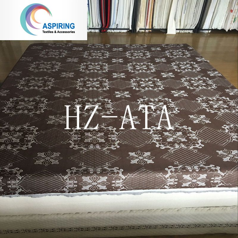 Polyester Jacquard Knitted Fabric for Mattress Pad