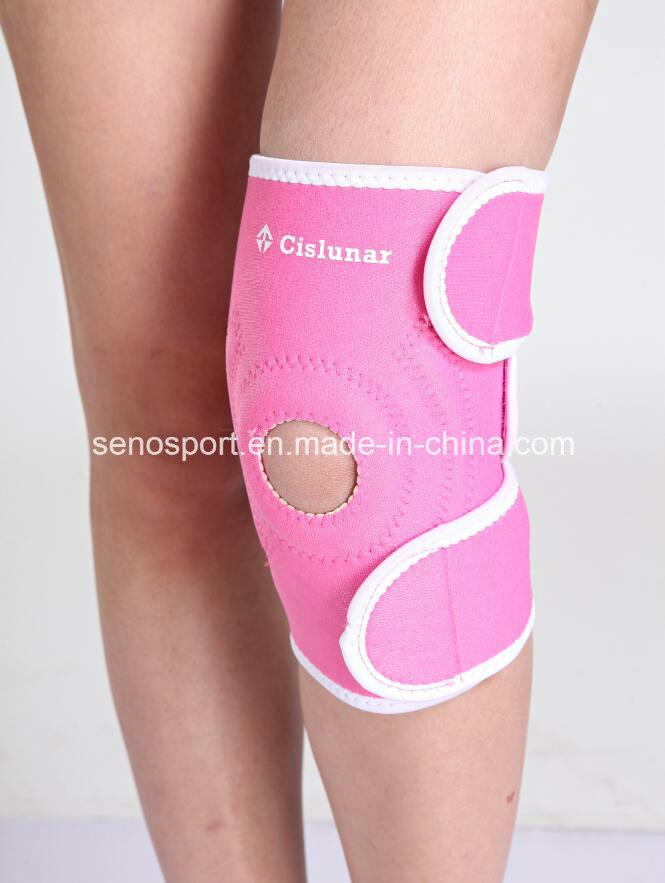 China Low Price Comfortable Neoprene Knee Pad with Custom Logo (SNKP01)