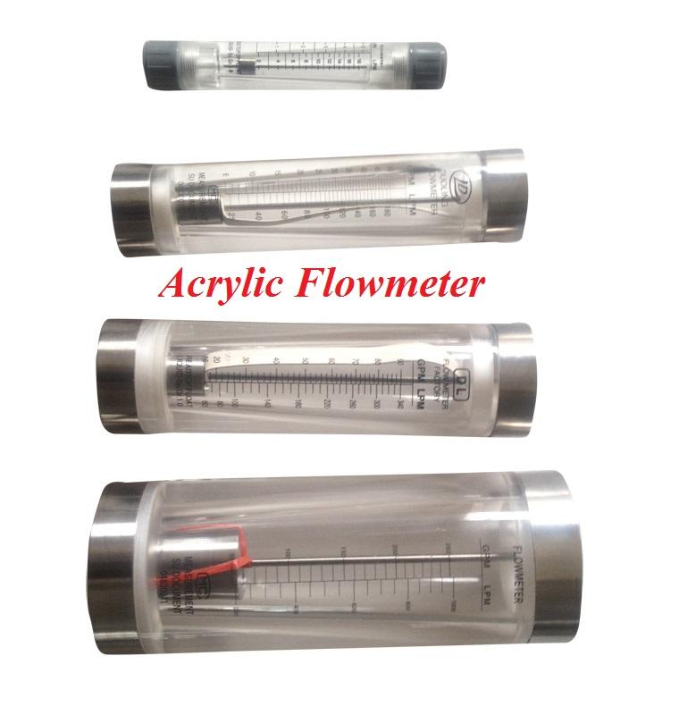 Biggest Flow Range Plastic Water Flowmeters Rotameters