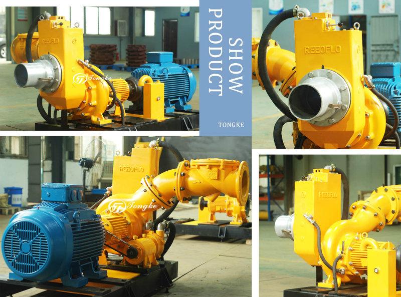Sph Non-Clogging Centrifugal Self-Priming Sewage Pump