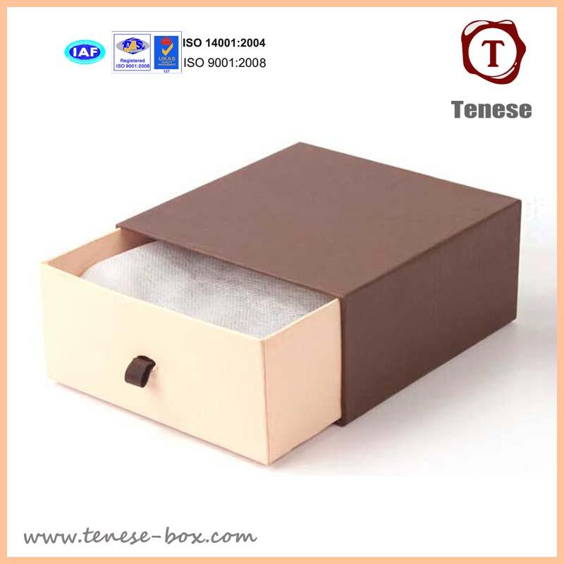 Custom Cardboard Gift Box Paper Drawer Box