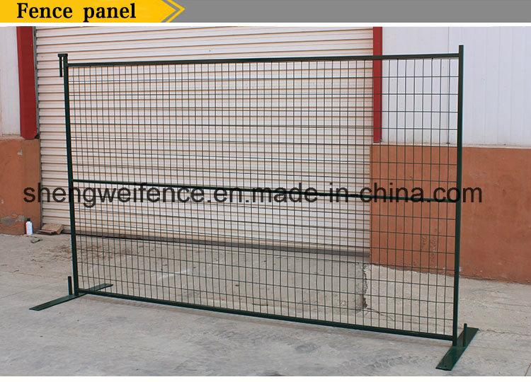 6 Feet X10feet Canada Standard Powder Coated Temporary Fence