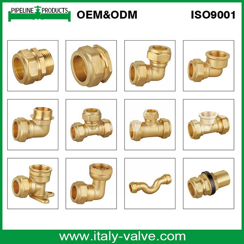Hot Selling Brass Forged Elbow Fitting/Pipe Fitting (AV-BF-7000)