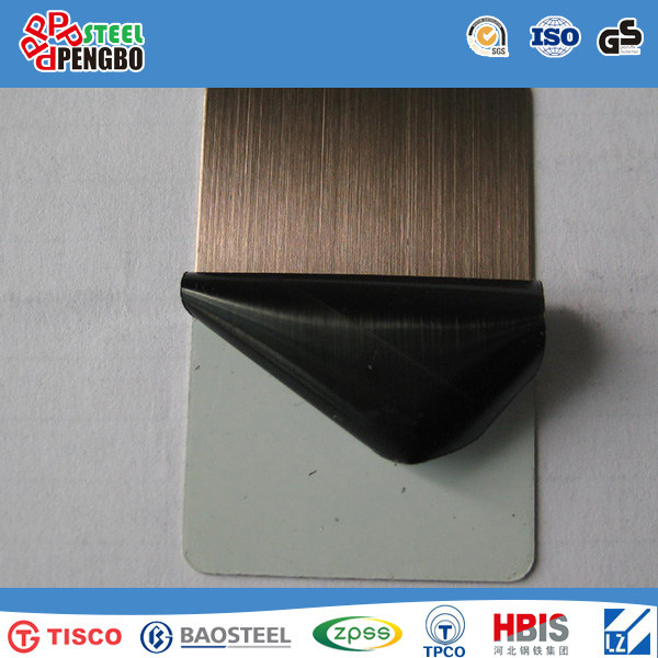 China Manufacture Stainless Color Steel Sheet for Decoration Materials