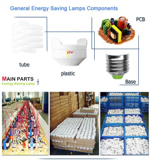 85W 17mm Lotus Energy Saving Lamp with CE (BNF17-LOTUS-A)