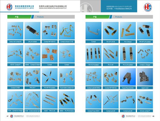 Supply Contact Pins From HK Hushun Group Co., Ltd (HS-CP-001)