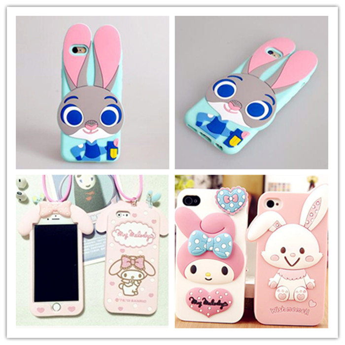 2016 Fashionable Colorful Customize Silicon Cover for Cell Phone