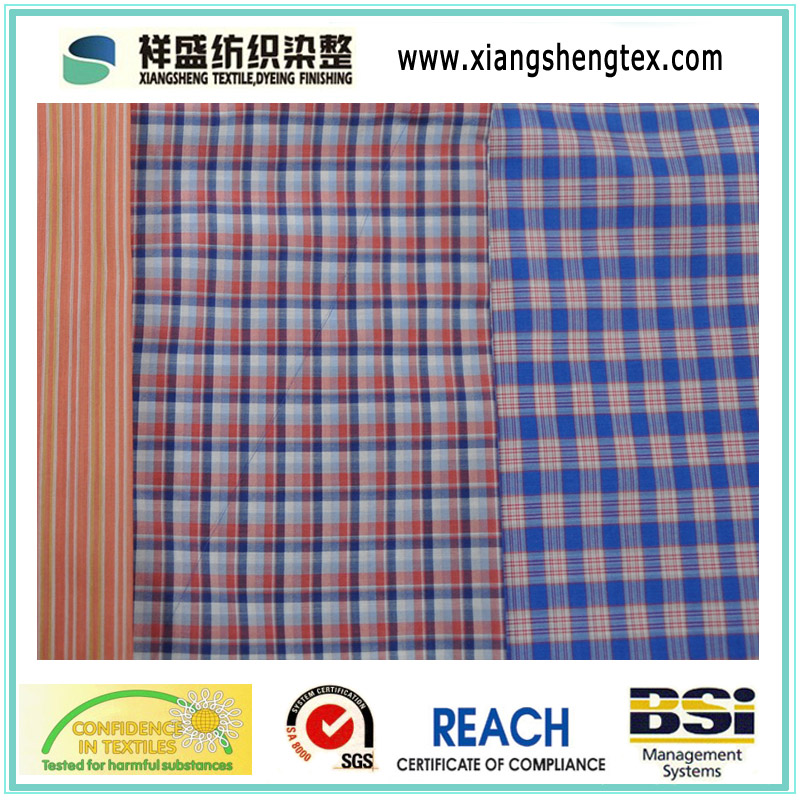 Yarn Dyed Silk and Cotton Check