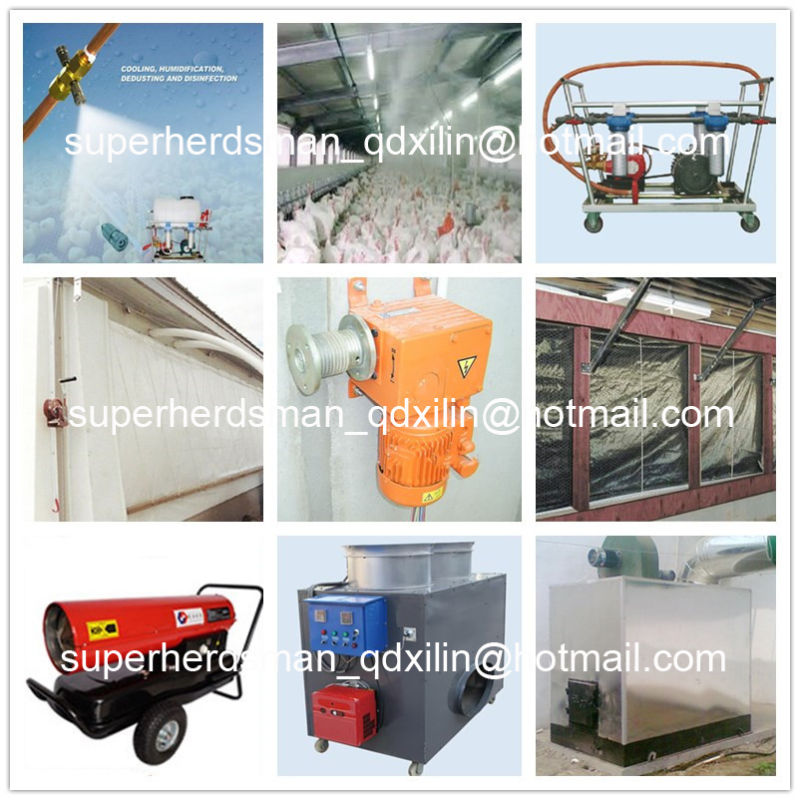 Hot Sale Automatic Poultry Farm Equipment for Broiler Farm