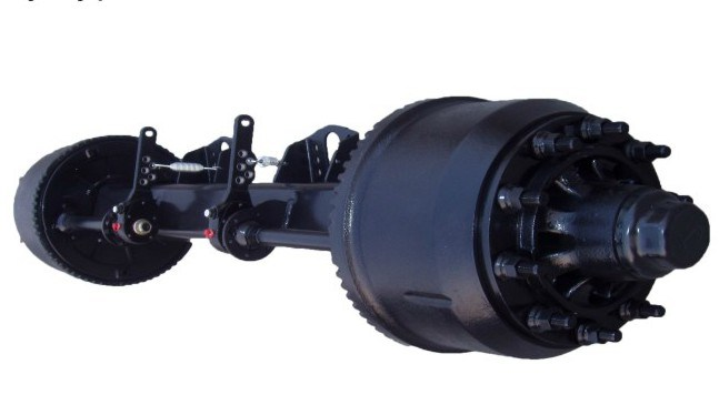 Square Beam 12t 14t 16t Germany Type Axle to Dubai