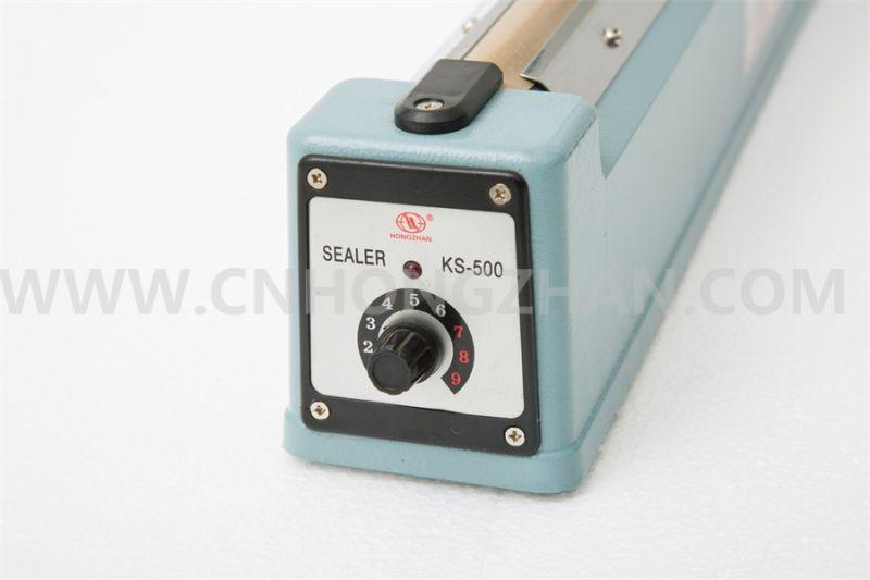 Hongzhan Ks Series Hand Impulse Sealer with Cutter