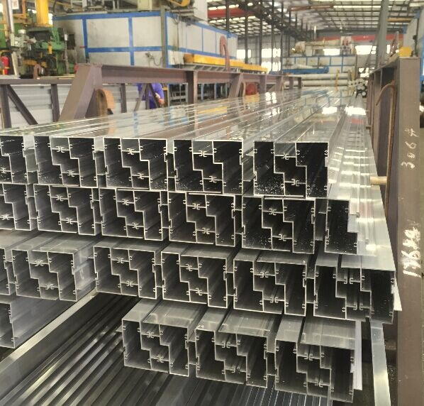 Special Structured Aluminum Products Aluminium Construction Profile