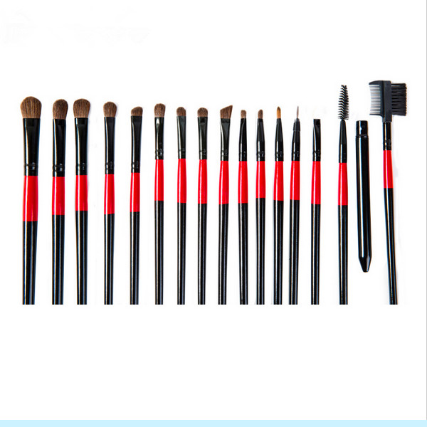 22PCS Hot Selling Professional Custom Printed Makeup Brush Set