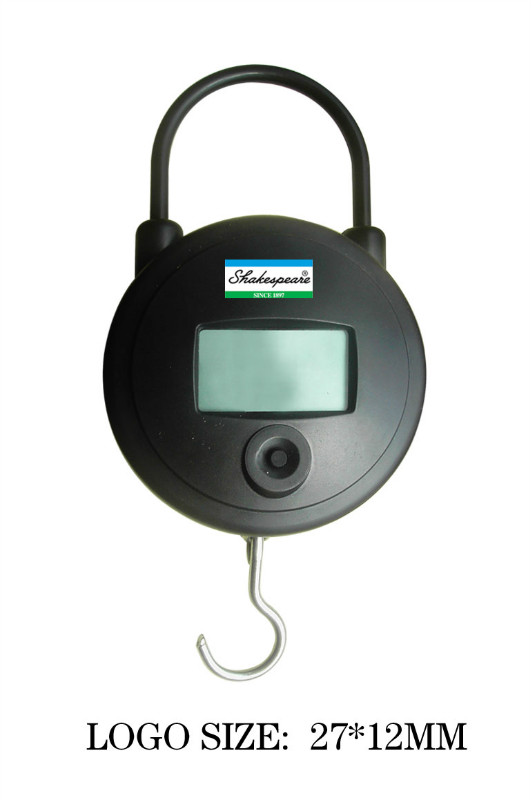 Round Fishing Scale Plastic Electronic Scale