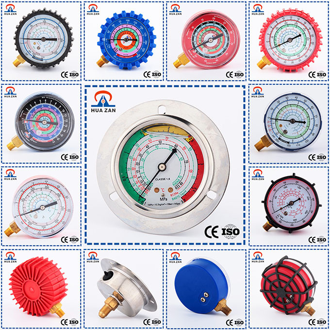 Refrigerant Manometer Competitive Price Refrigeration Pressure Gauge Manometer