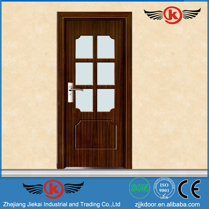 Jk P9068 Pvc Bathroom Door Price Main Door Design China Manufacturer