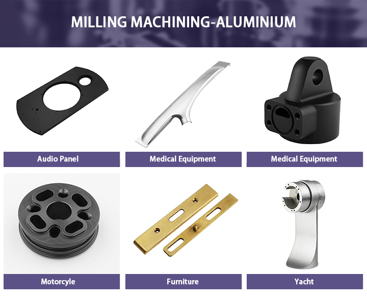 Wholesale Aluminum Machining CNC Milling Bicycle Parts