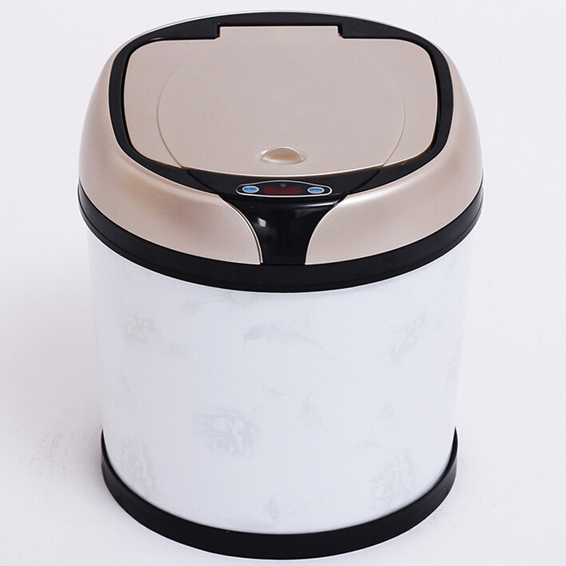 Three Colors Available Plastic Sensor Dustbin (YW008)