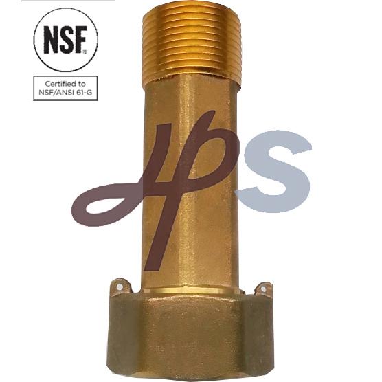 1/2''-2''nsf Certified Lead Free Water Meter Coupling of Bronze or Brass Material