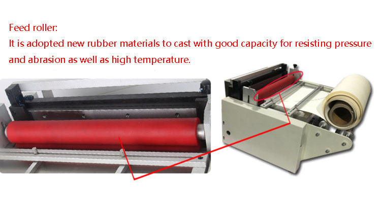 High quality roll to sheet cutter