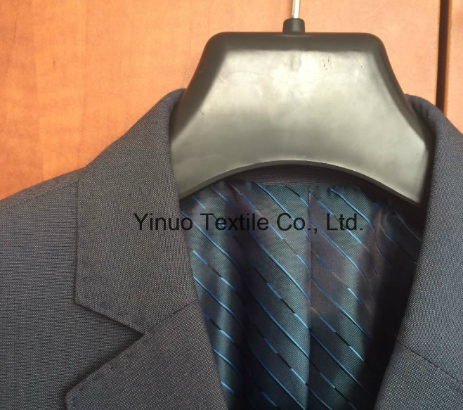 100 Polyester Men's Jacket Print Lining Fabric Supplier