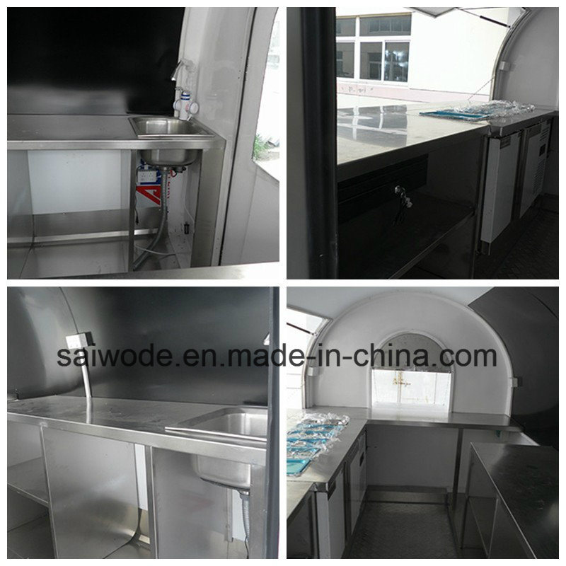 Small Space Mobile Food Cart for Export India