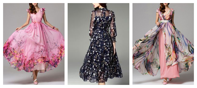 Woven Colorful Print Polyester Chiffon Fabric for Dress/Shirt