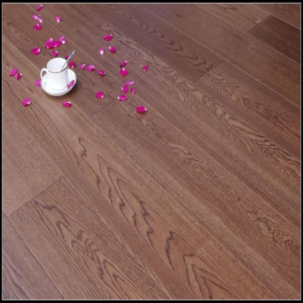 Brushed&Stained Solid Oak Hardwood Flooring/Wood Flooring