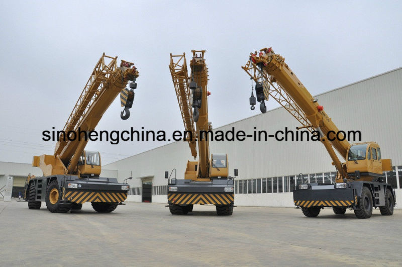 New Arrival Cheap Price Qry60 Hydraulic Telescopic Boom Rough Terrain Crane with CE