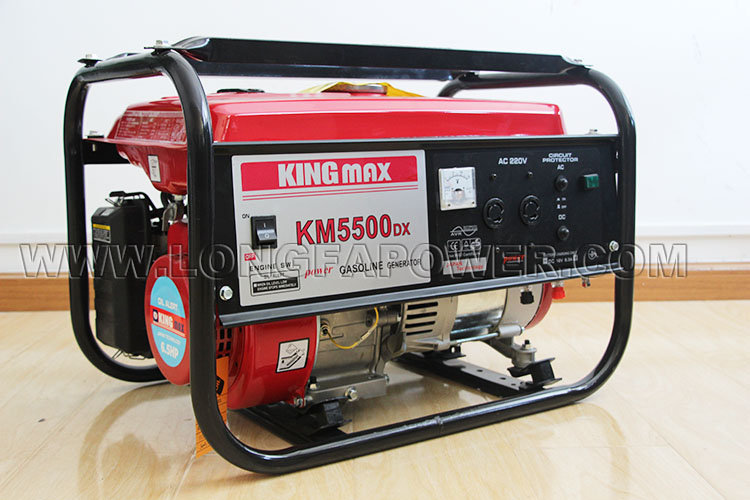 Km5500dx Portable Kingmax Power Gasoline Generator