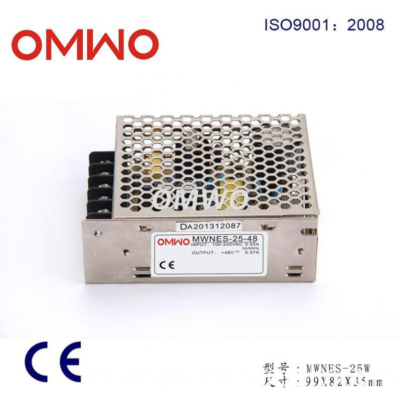 15W 5/12/24/48V Nes Series Efficient Single Switching Power Switching Power Supply