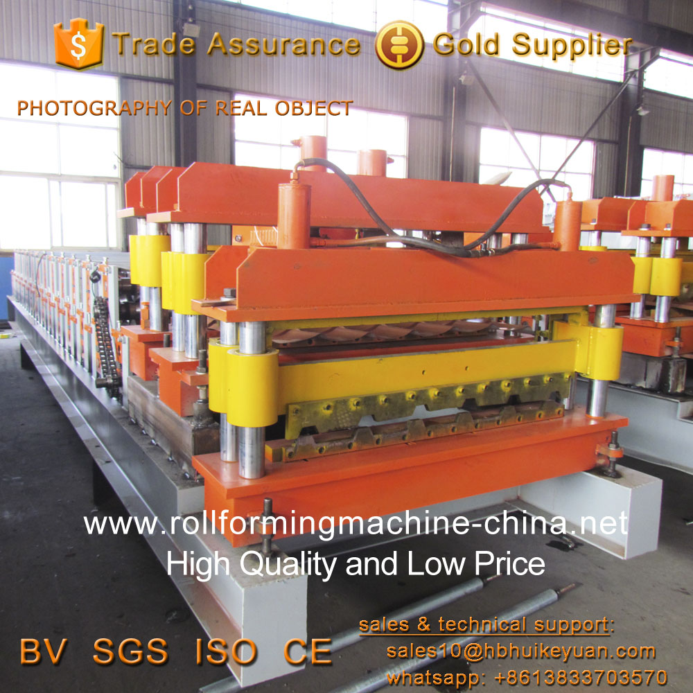 Double Layer Tile Making Machine for Different Dovetail Panels
