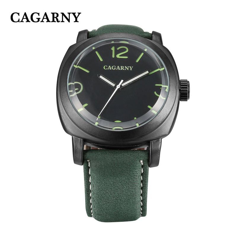 6833 3hands Quartz Watch Fashion Luminous