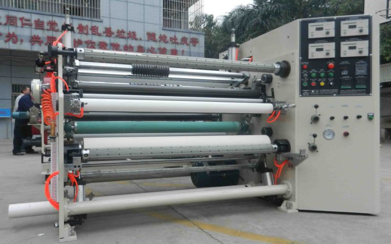 Laminating Slitting and Rewinding Package Machinery