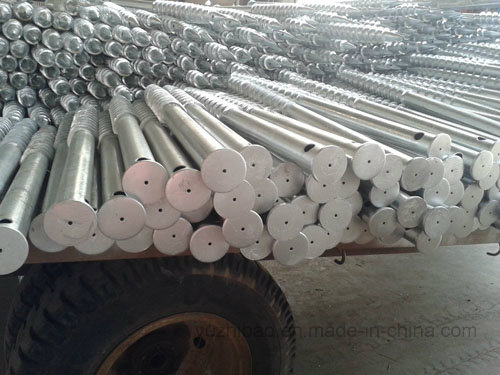Helical Ground Screw Drilling