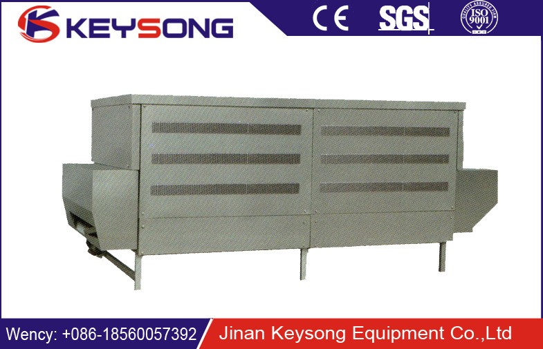 High Capacity Tunnel Box Type Microwave Dryer Oven